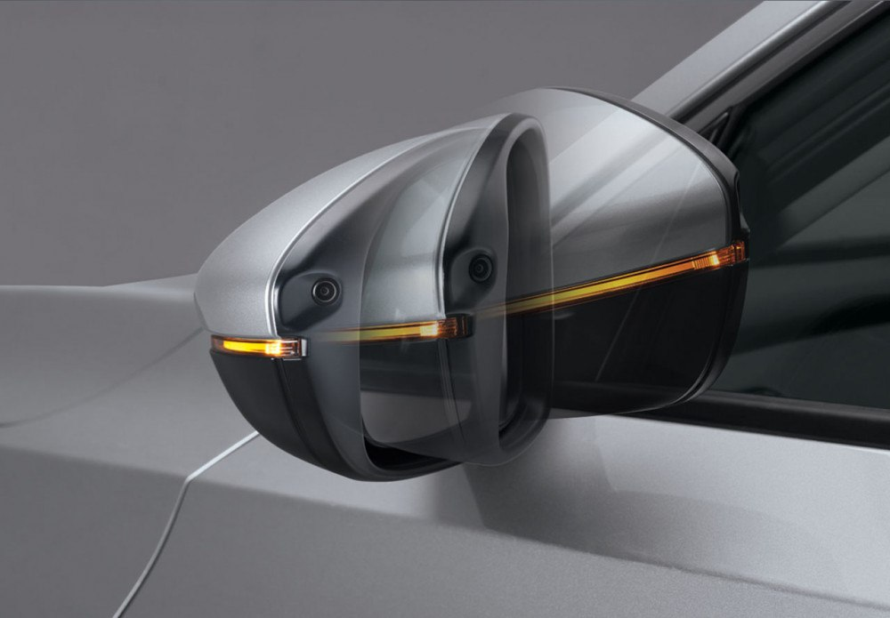 Auto Foldable Hydrophilic Side Door Mirror