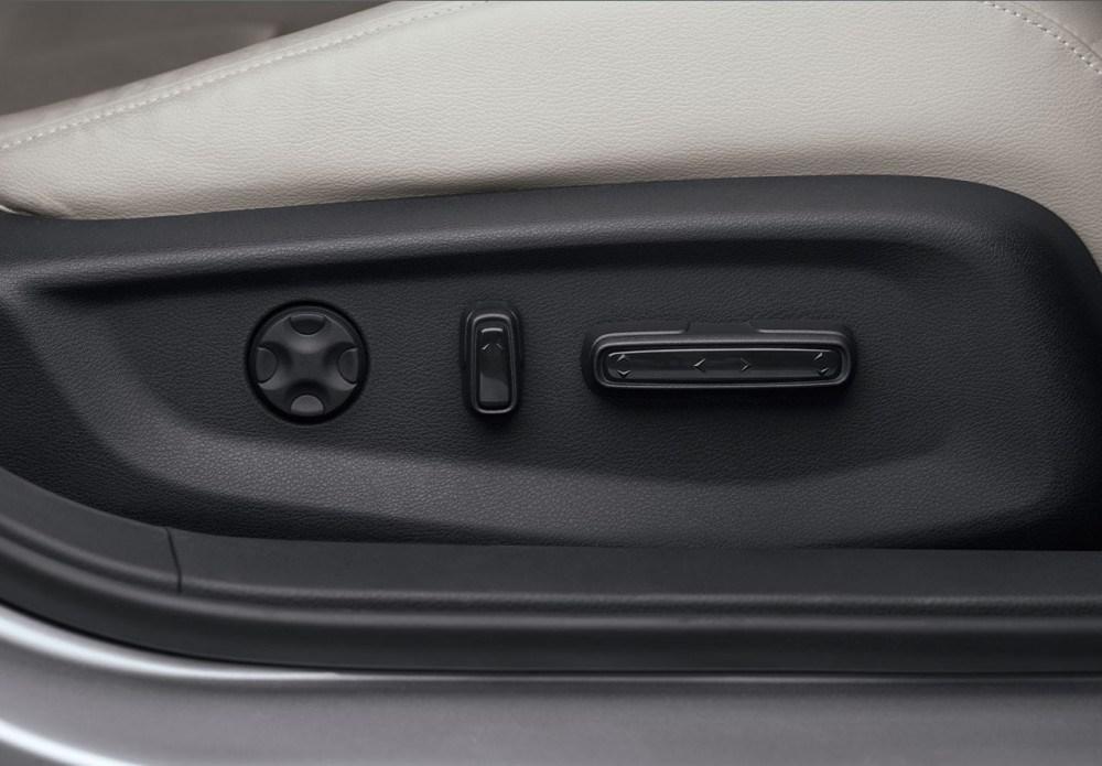 8-Way Power Seat Adjustment, 4-Way Front Passenger Power Seat Adjustment