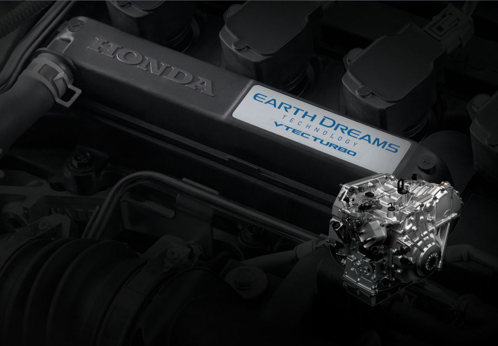 1.5 VTEC Engine with Earth Dreams Technology
