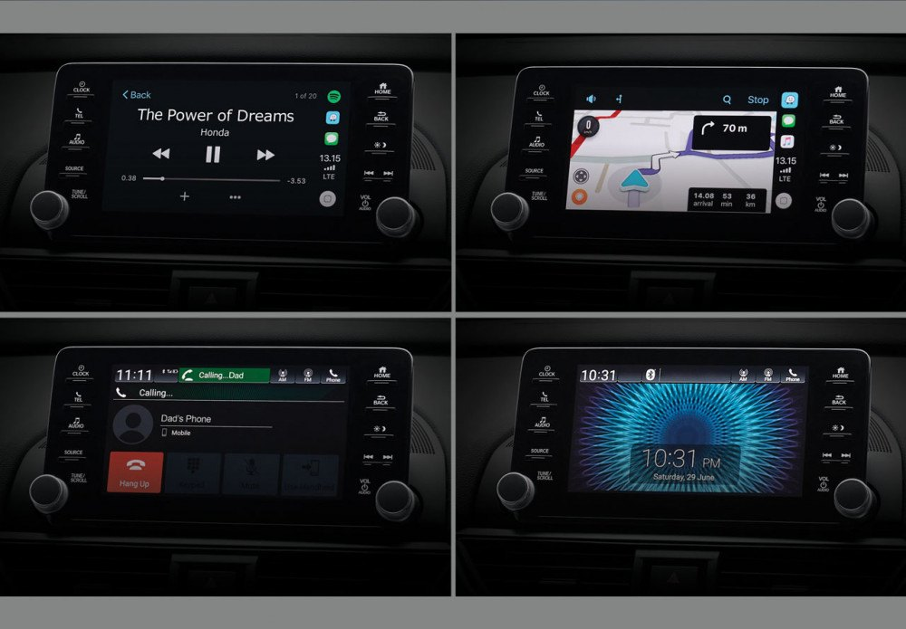 8 Inch Advanced Capacitive Touchscreen Display Audio