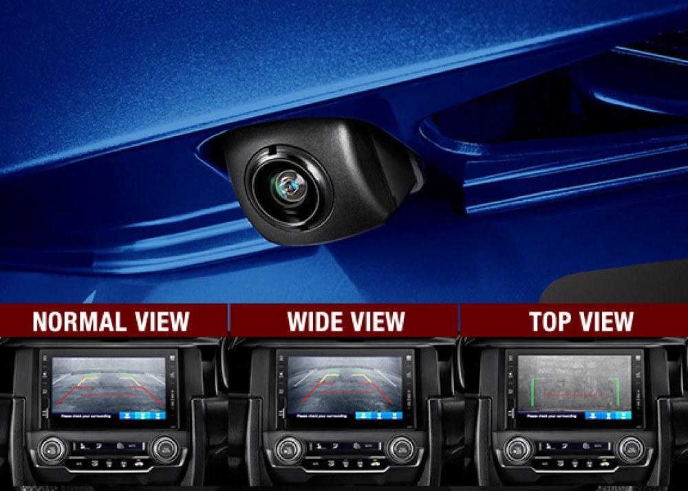 Multi Angle Rear View Camera