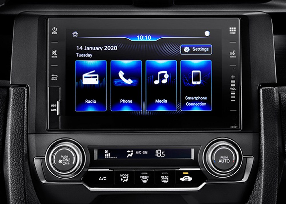 New 7 Inch Capacitive Touchscreen Display Audio, AM FM Radio, Aux-In Port, USB Port, Smartphone Connection, Bluetooth