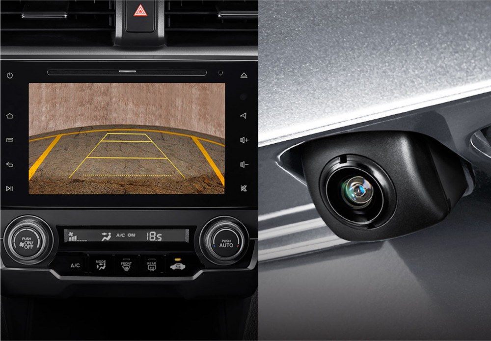 Wide Rear View Parking Camera