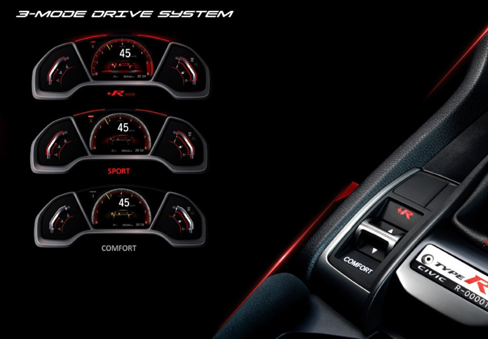 3 Mode Drive System