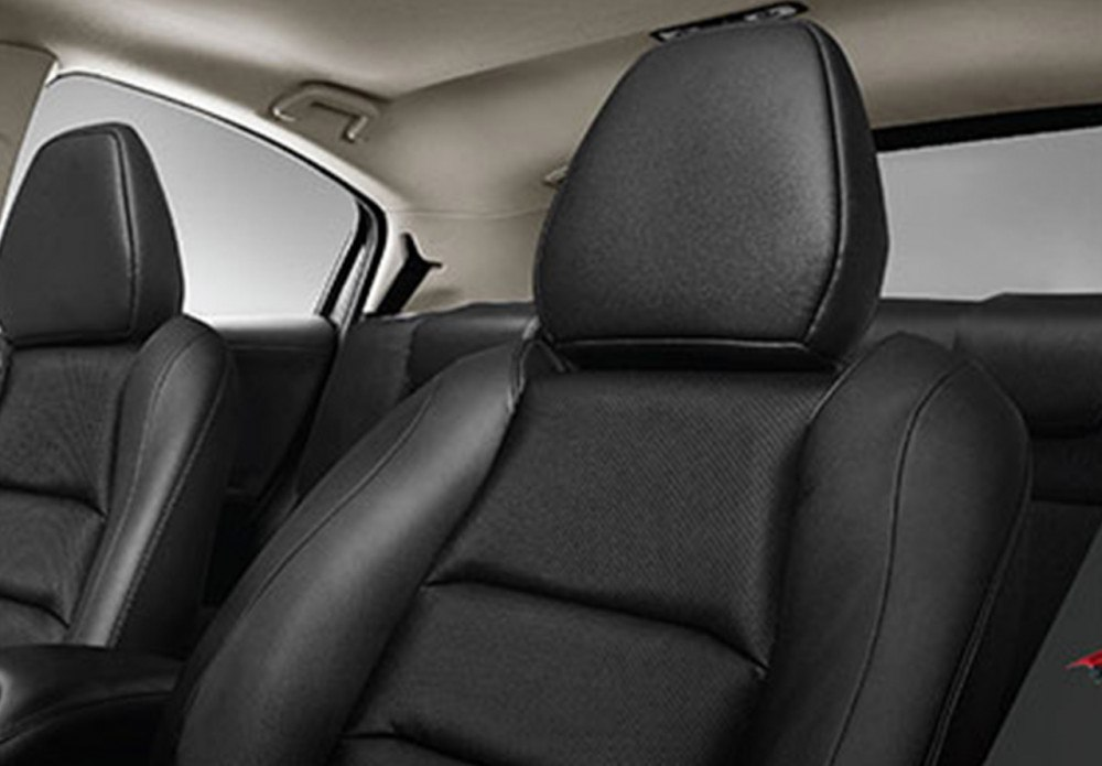 New Front Seat Design