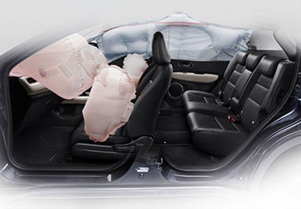 6 Airbags (Available on Honda HR-V 1.8L Prestige)