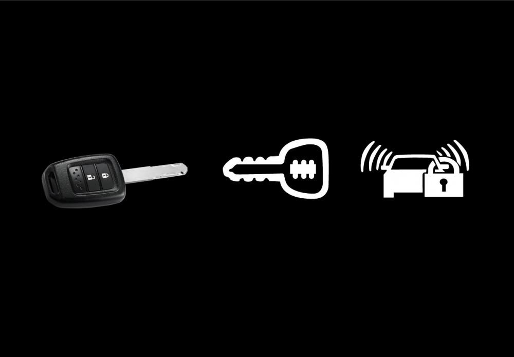 Keyless Entry, Immobilizer & Security Alarm
