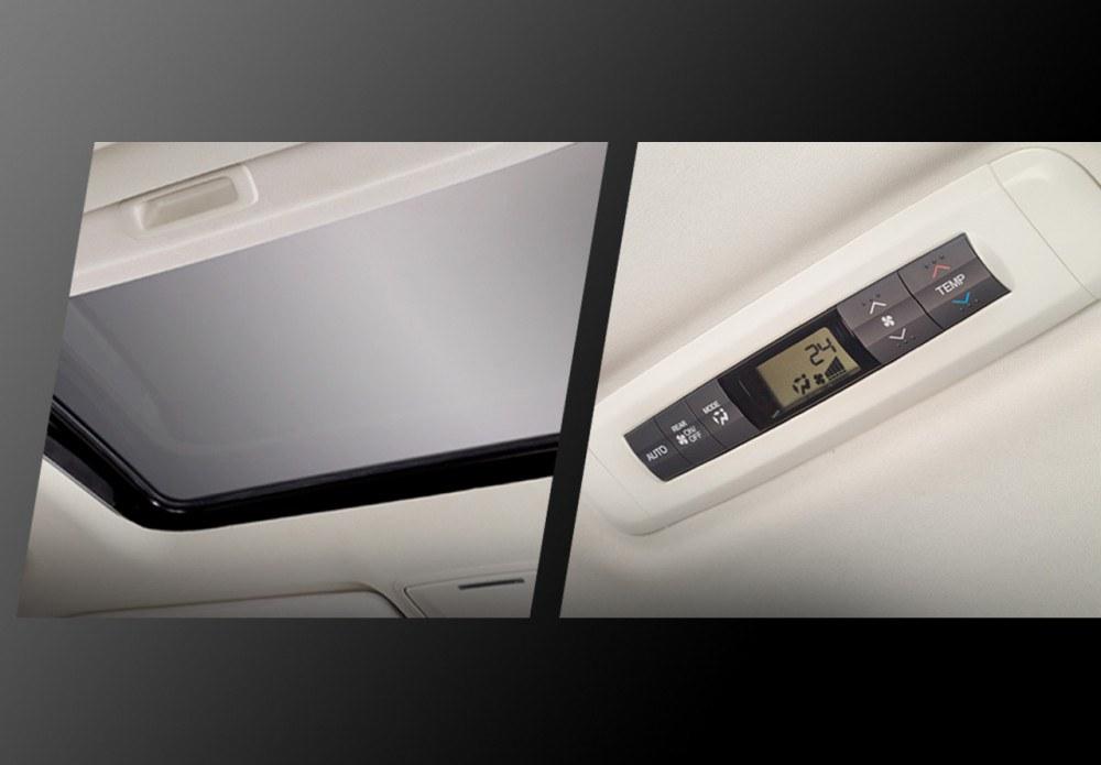 Power Sunroof & Digital Rear AC Controller