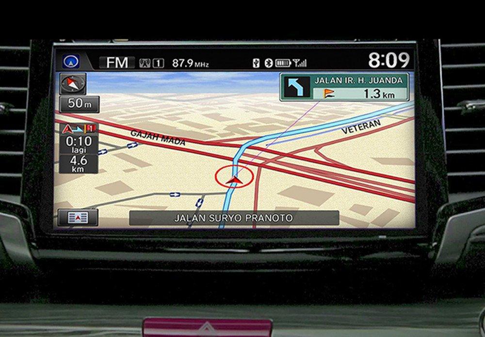 Built-In GPS Navigation